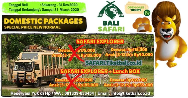 Bali Safari Tiket